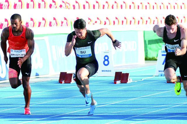 苏炳添百米9秒91 平百米亚洲纪录