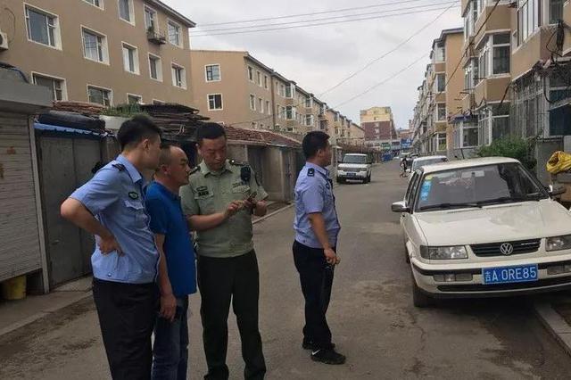 德惠一小区被投诉 万博manbetx客服消防与派出所联合执法清隐患