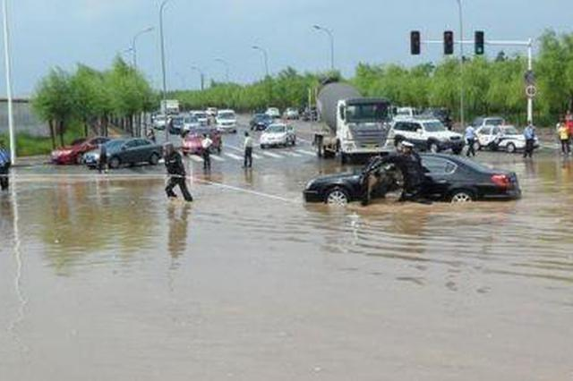 吉林省战胜入汛以来第一轮强降雨