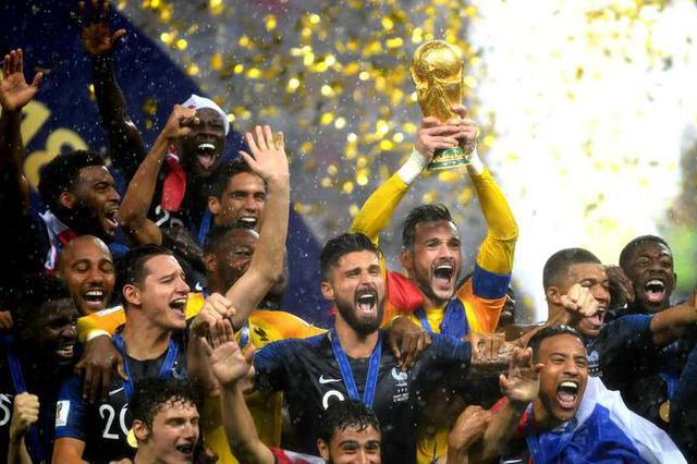 世界杯法国4-2克罗地亚夺冠 莫德里奇获世界杯金球奖
