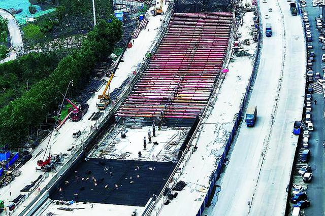 长春市南四环路下穿临河街隧道预计10月末通车