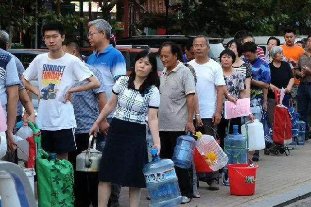 延吉一小区已连续断水断电8天!居民很糟心