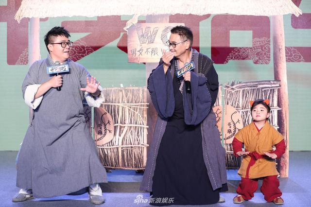 《新乌龙院》吴孟达郝邵文聚首 为啥释小龙没来?