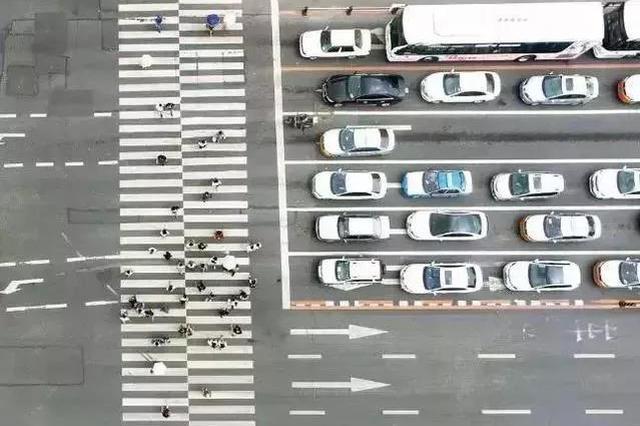 长春市这5处路口安装高清抓拍 严查车不避人行为