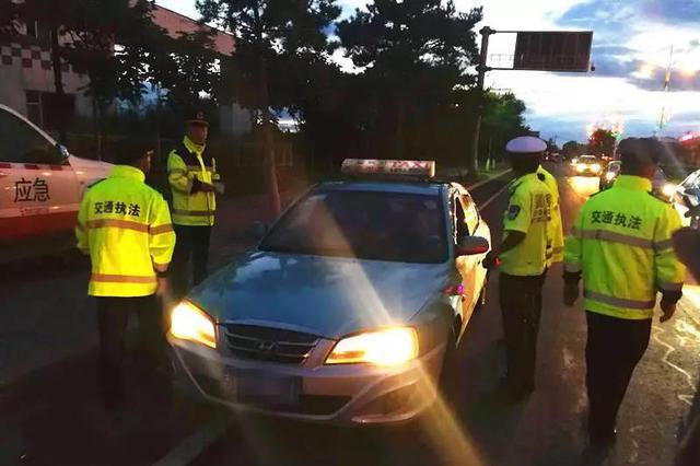 延吉交管部门:查处3台出租车不按规定使用计价器