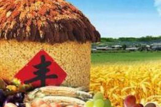 四平举办首届农民丰收节