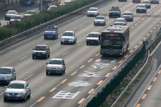 长春市于10月5日开展今年首次交通调流
