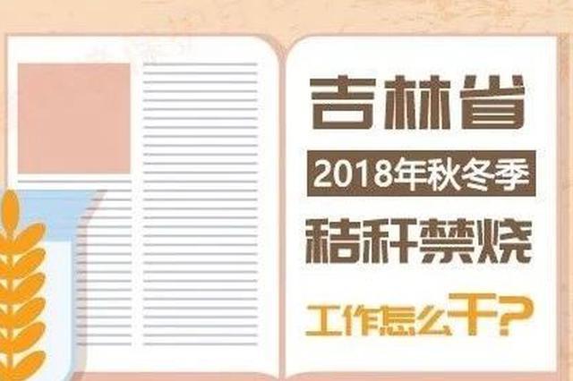 吉林省2018年秋冬季秸秆禁烧工作怎么干?