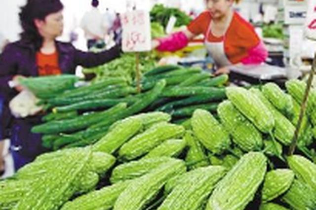 延吉本地蔬菜大量上市 深受市民喜爱