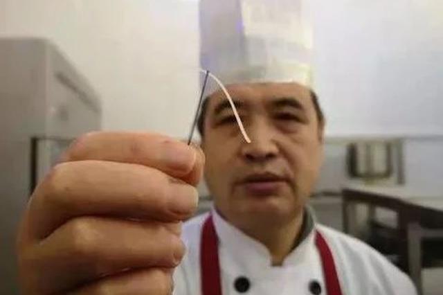 吉大食堂藏着一位厨艺高手:土豆丝能穿针