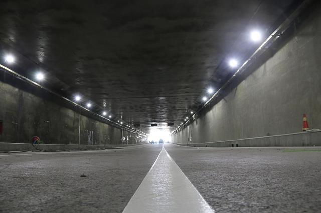 长春市南四环路下穿临河街隧道预计10月16日上午通车