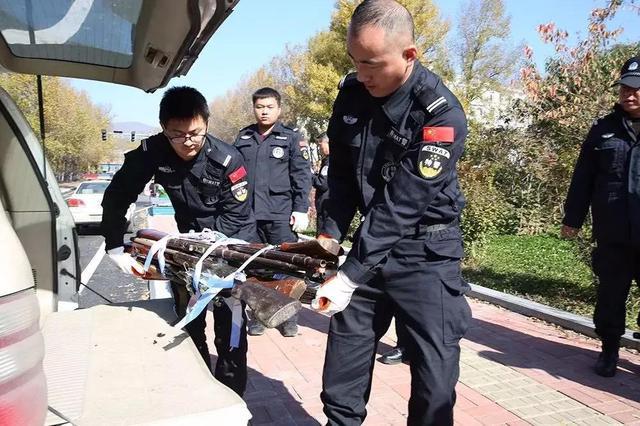 吉林省集中销毁非法枪支1422支 管制刀具2985把