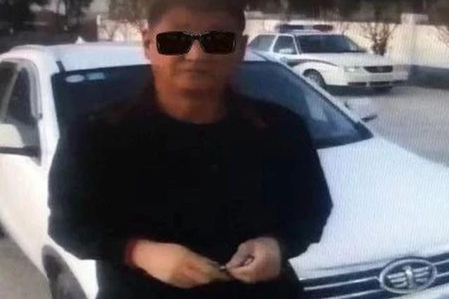 长春一轿车使用其他车辆号牌 见交警检查想倒车逃跑