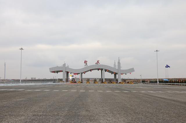 中铁建大桥工程局承建的吉林至荒岗高速公路通车