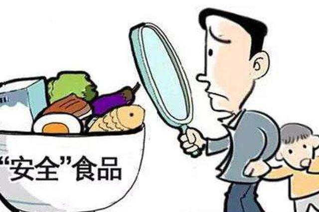 长春市利强食品有限公司生产的韩式拉面抽检不合格