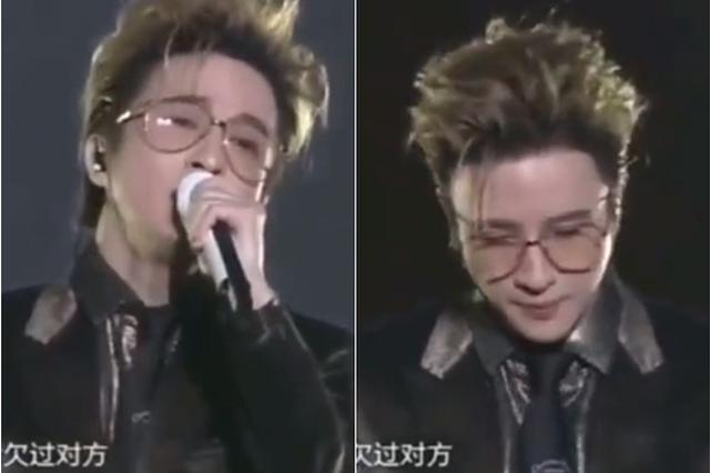 """听观众喊""""李雨桐"""" 薛之谦演唱中途停顿当场变脸"""