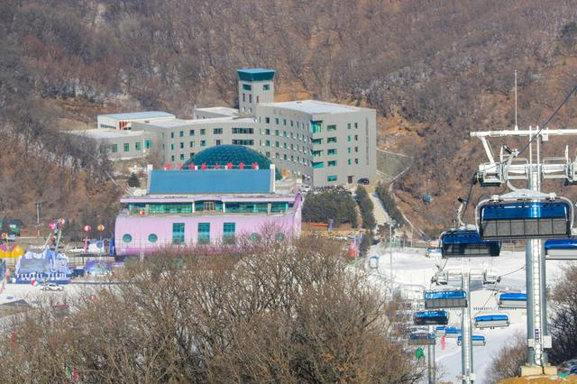 春城滑雪场敞开怀抱 欢迎游客来长春滑雪