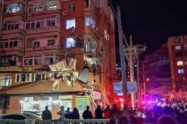 东北一居民楼发生煤气爆炸事故 造成13人受伤