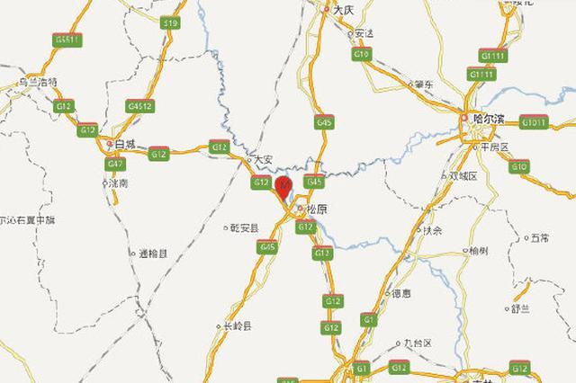01月12日04时03分吉林松原市宁江区发生3.0级地震