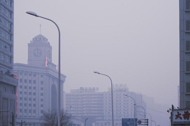 雾锁春城 吉林省气象台1月13日发布霾黄色预警