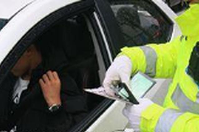 电子警察显神威助力延吉交警查处7台涉牌车辆