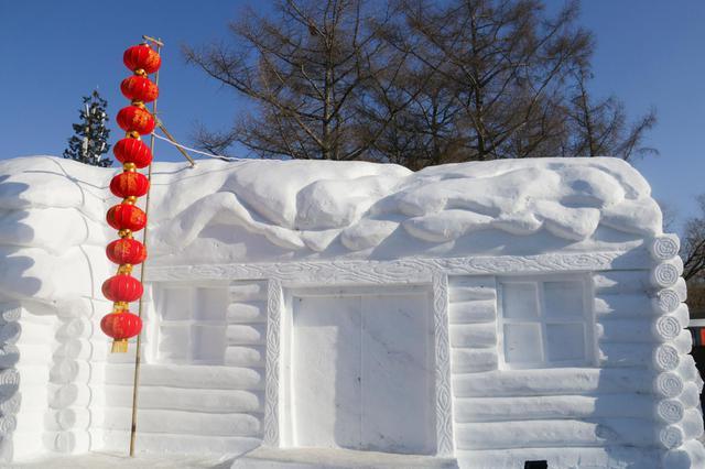 长春市南湖公园雪雕拆除 冰上游乐项目撤出