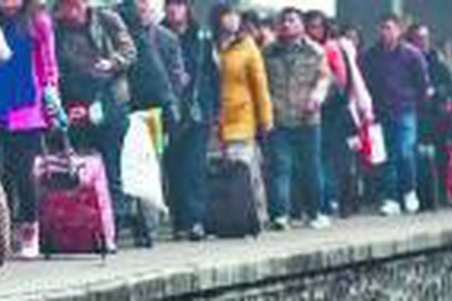 万博manbetx客服站春运发送旅客379万人次