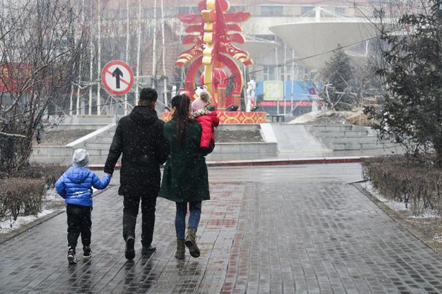 长春突降雨夹雪 省气象台发布道路冰雪蓝色信号
