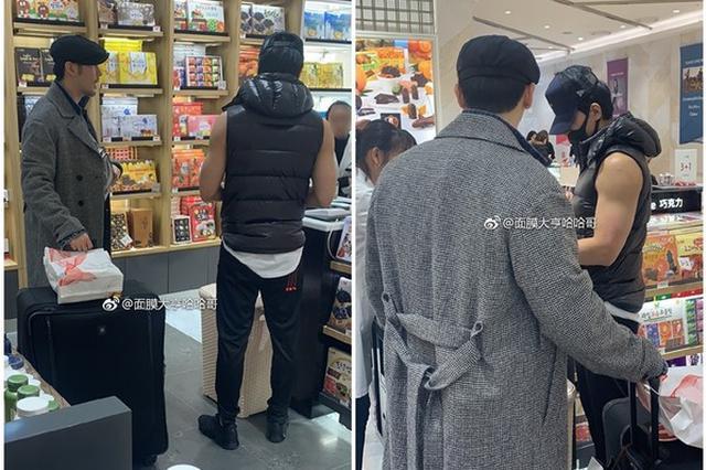 网友首尔偶遇言承旭 低温穿无袖上衣超显眼