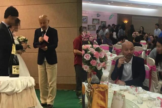 葛优出席亲戚婚礼担任证婚人 被赞随和接地气