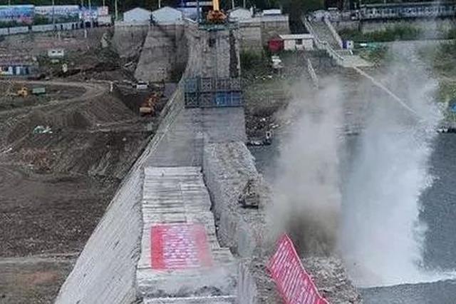 """""""中国水电之母""""丰满水电站新坝投入运行!"""