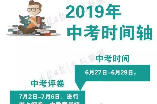 2019年长春市中考时间节点确定!7月8日可查成绩