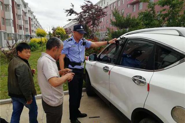 和龙4岁男孩被锁车内 巡逻民警及时救助脱险
