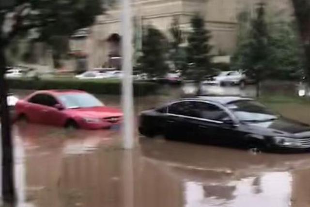 暴雨来袭!长春市多处路段严重积水