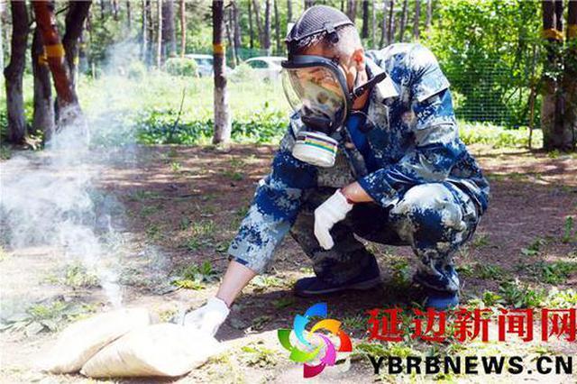 6月12日至20日帽儿山放烟剂防治松毛虫 尽量不要登山