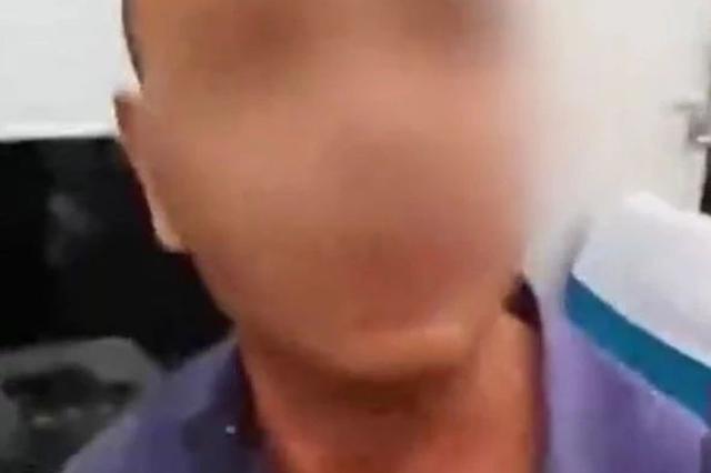 北京开往辽源的列车上一男子抽烟、霸座还打人被拘留