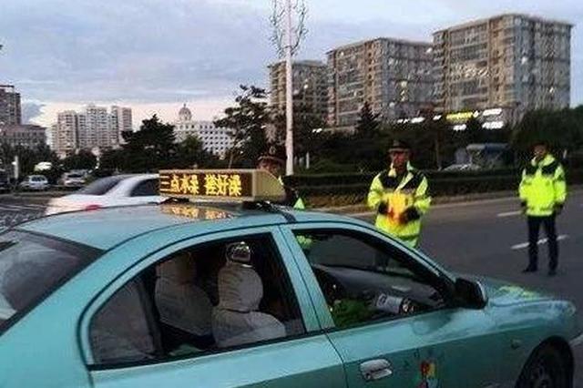 延吉一出租车司机营运时间酒驾被查 将被吊销驾驶证