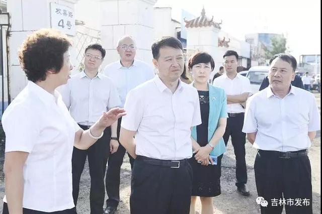 吉林市市委书记王庭凯检查全市创建国家卫生城市工作