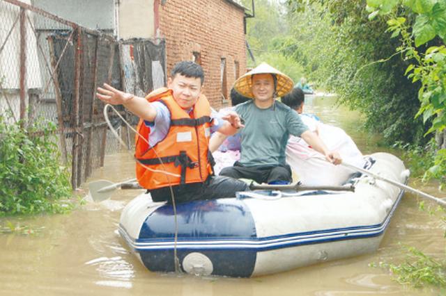 长春市第一时间化解汛情险情 转移受灾人口767人