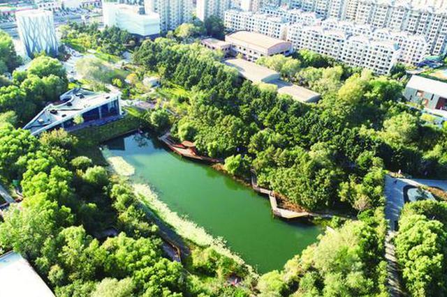 长春水文化生态园 新地标擦亮城市文化名片