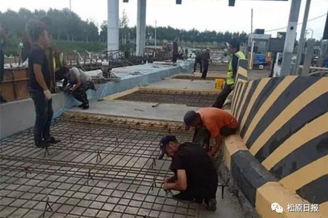 松原查干湖高速口9月1日正式通车