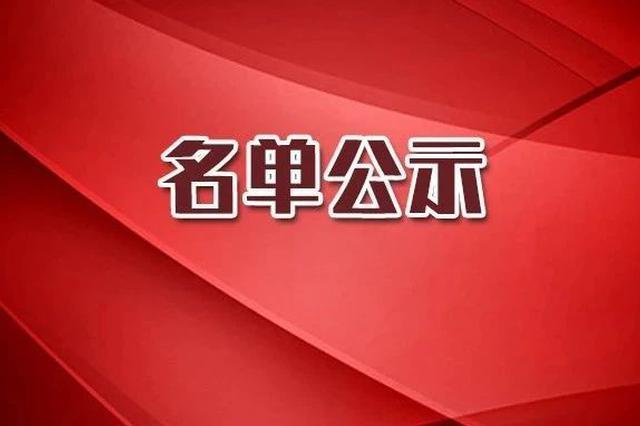 2019年吉林省精品在线开放课程拟认定名单公示