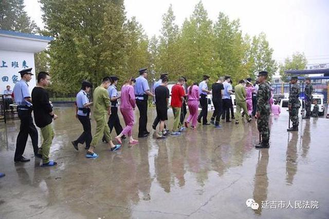 延吉市法院审理一起重大电信诈骗案 涉案人员达65名