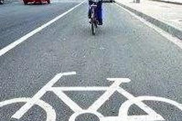 延吉街路出现了多处非机动车道标识!