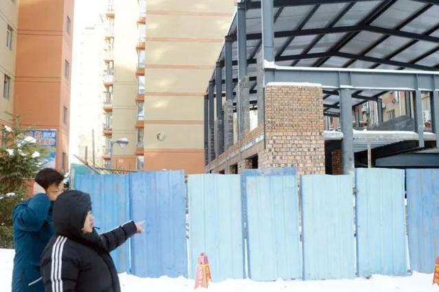延吉一小区违建后续:拆除建筑就得签字 业主犯了难