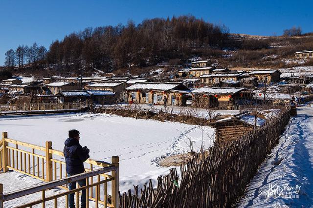 依山而建 傍水而居——长白山脚下的锦江木屋村