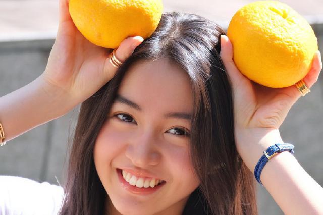 木村光希捧橘子甜笑阳光元气 姐姐心美掌镜不输大师