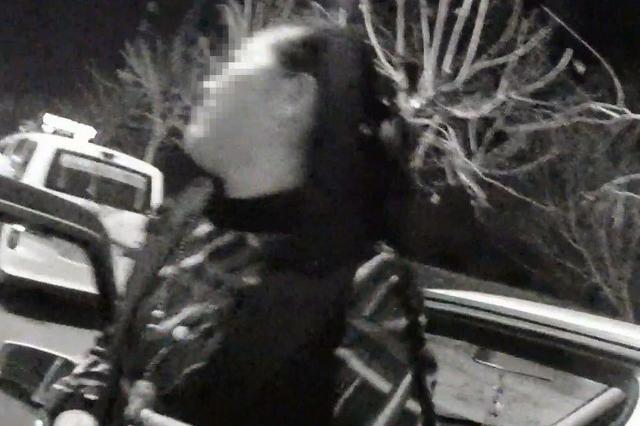 女子酒后驾车 遇长春交警检查加速逃跑被截停