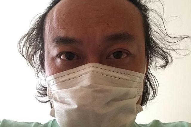陈奕迅久违晒自拍口罩遮面 暖心鼓励:乌云会散去