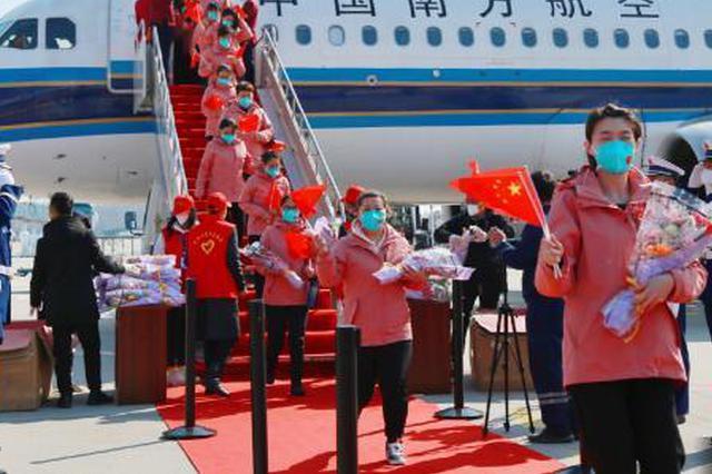 吉林省援汉医疗队员返乡论英雄:我的家人才是